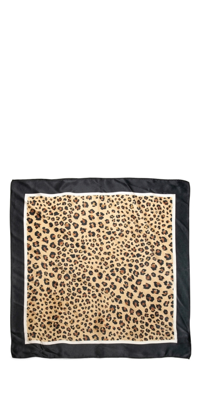 Accessories | Leopard Silk Scarf