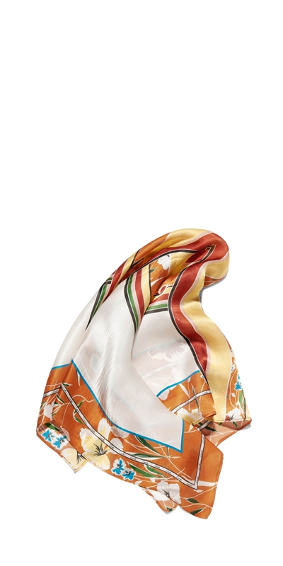 Sale | Floral Sunset Silk Scarf