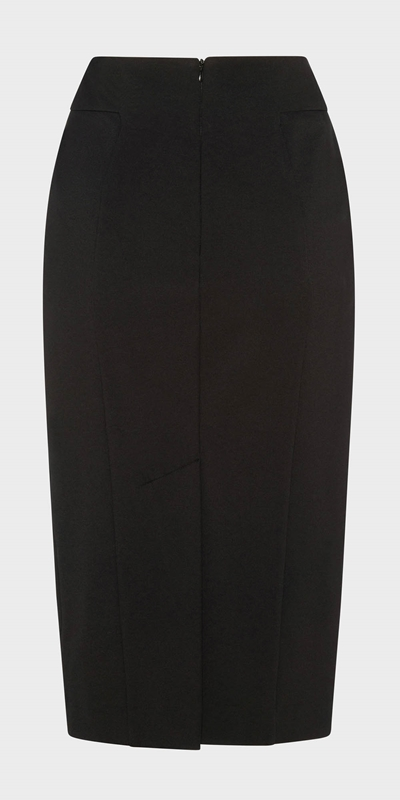 Work From Home  | Panelled Pencil Skirt