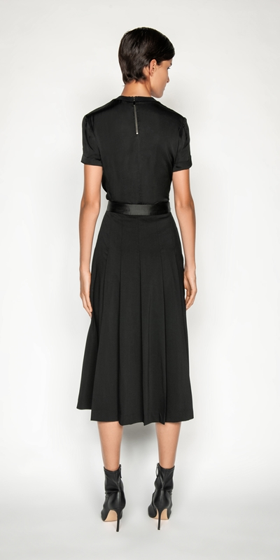 Skirts | Wool Pleated Skirt