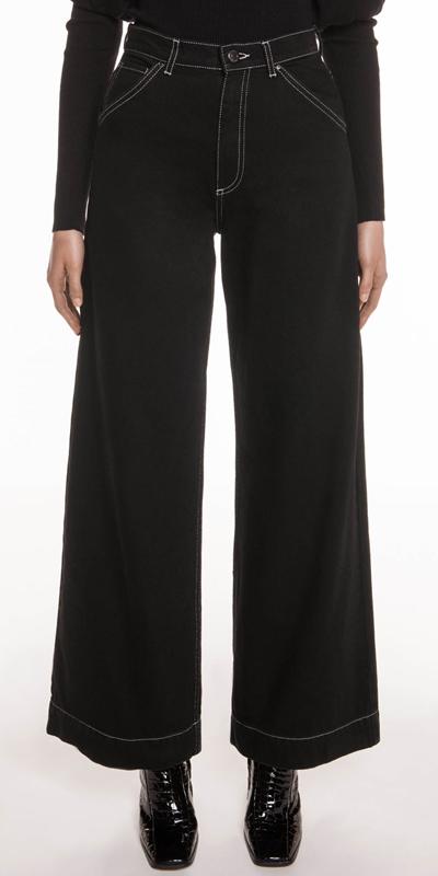 Pants | High Waist Wide Leg Jean