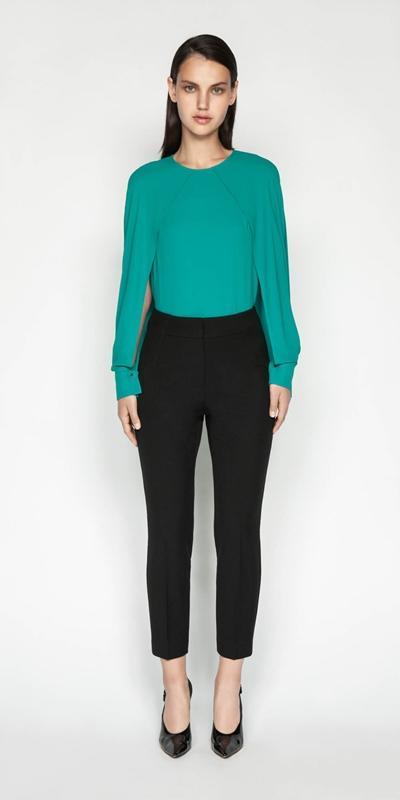 Wear to Work | Cropped Slim Leg Pant