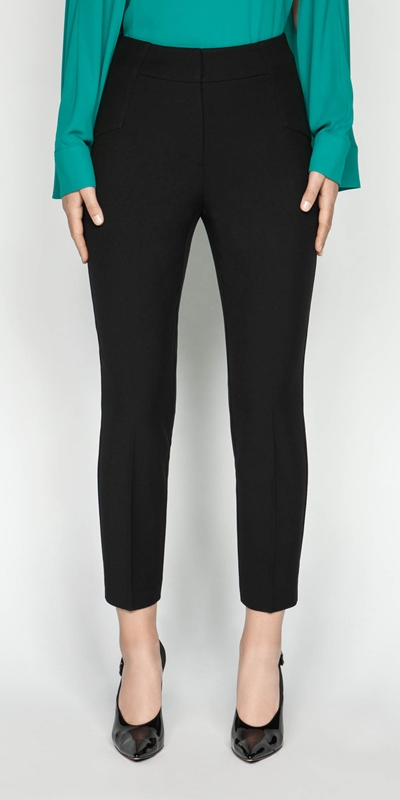 Pants | Cropped Slim Leg Pant