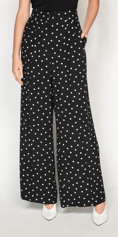 Pants  | Spot Wide Leg Pant