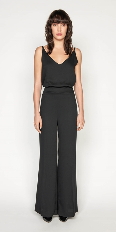 Pants | Wide Leg Jumpsuit