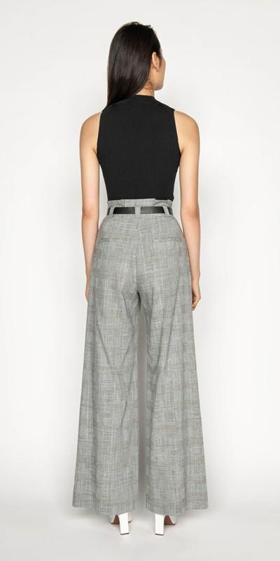 Pants | Melange Paper Bag Pant