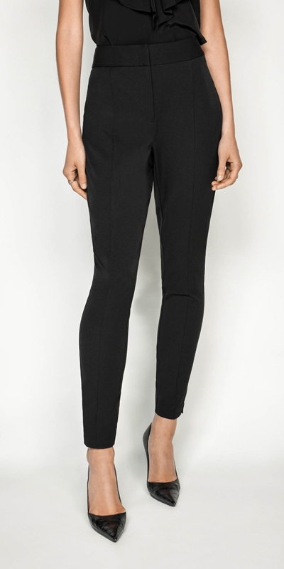 Pants | High Waisted Cropped Skinny Pant