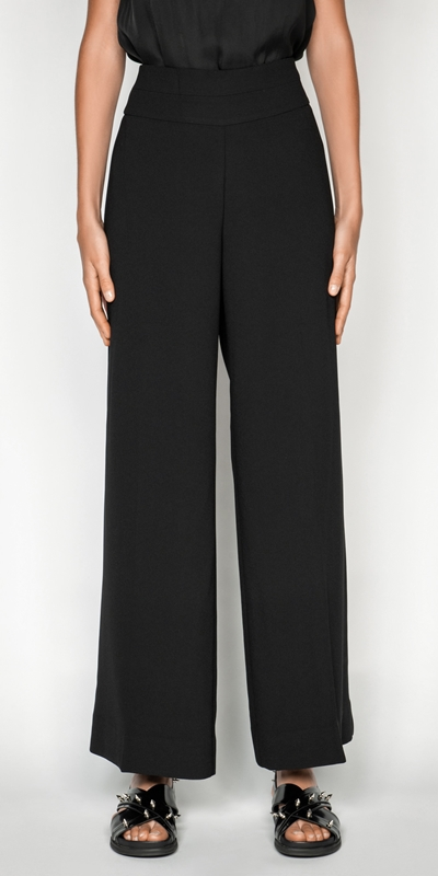 Pants  | High Waisted Wide Leg Pant