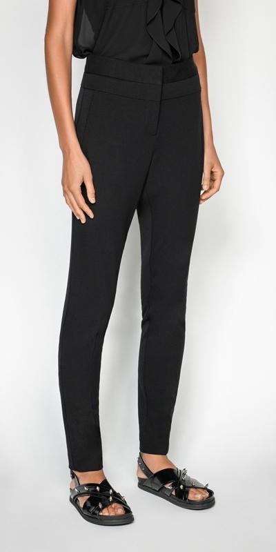 Pants | Stretch Twill Skinny Leg Pant