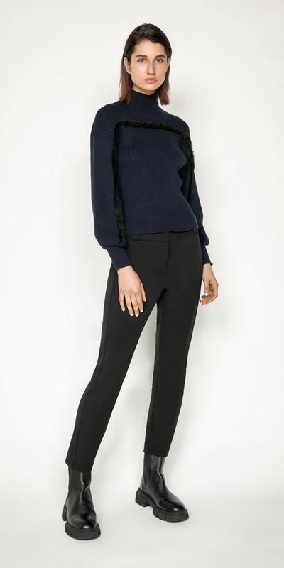 Cue Cares - Sustainable | Eco Twill Skinny Leg Pant