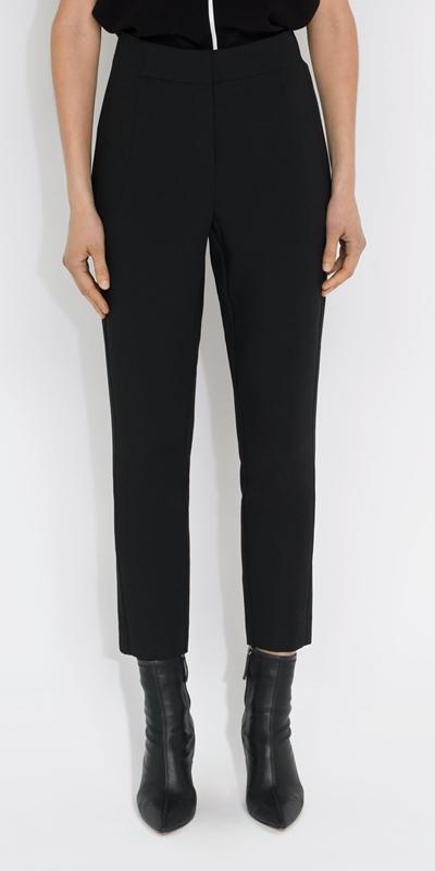 Pants    Panelled Skinny Leg Pant