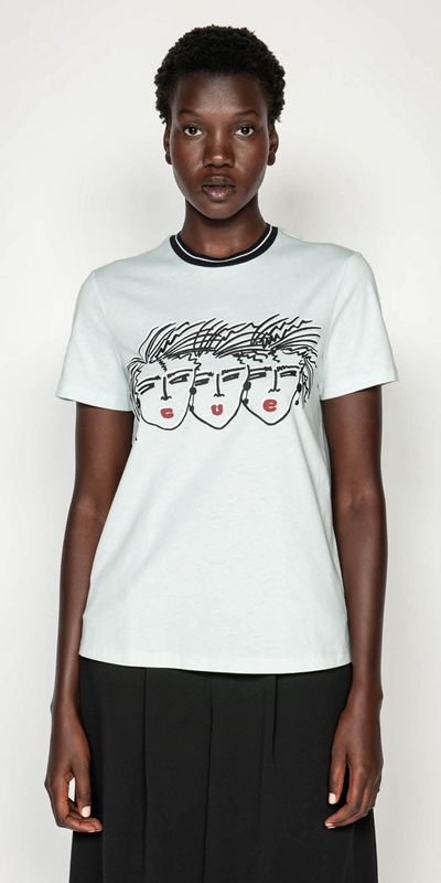 Tops  | Cue Face Tee
