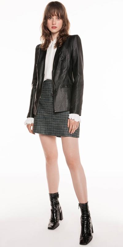 Jackets | Leather Blazer