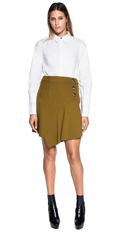 Sale | Crisp Cotton Cuffed Shirt