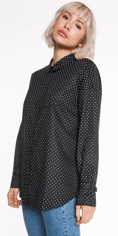Sale  | Spot Oversized Shirt