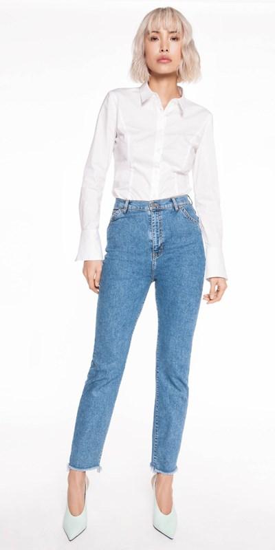 Sale  | Panelled Cotton Shirt