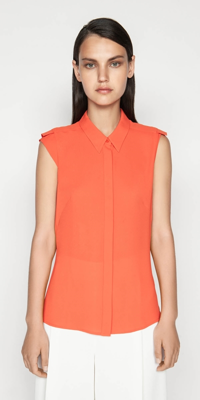 Sale  | Georgette Extended Shoulder Top