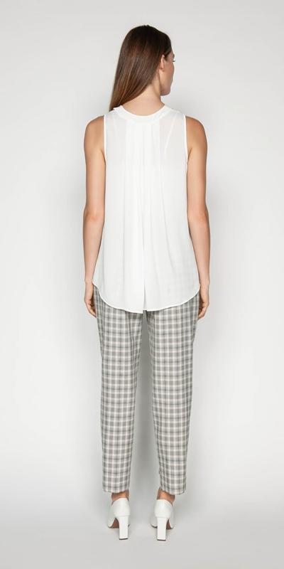 Shirts | Georgette V-neck Top
