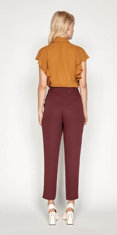 Tops | Cascade Frill Sleeve Shirt