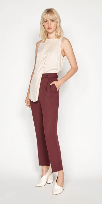 Wear to Work | Asymmetric Swing Top