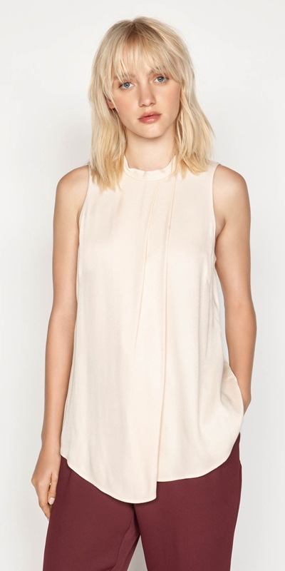 Shirts  | Asymmetric Swing Top