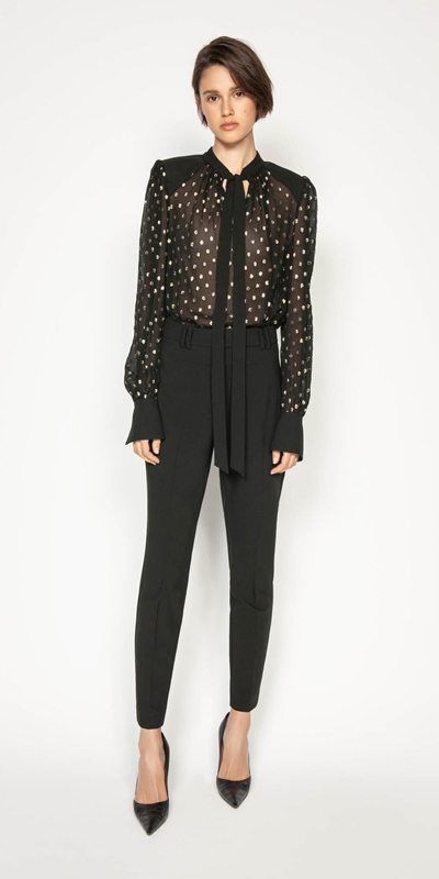 Wear to Work | Golden Spot Blouse