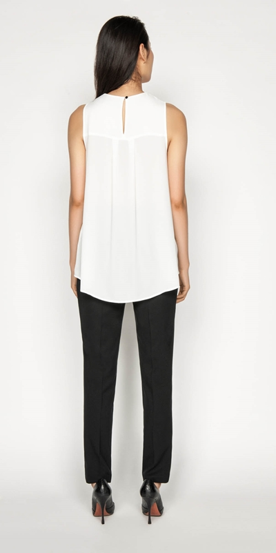 Tops | Shaped Hem Swing Top