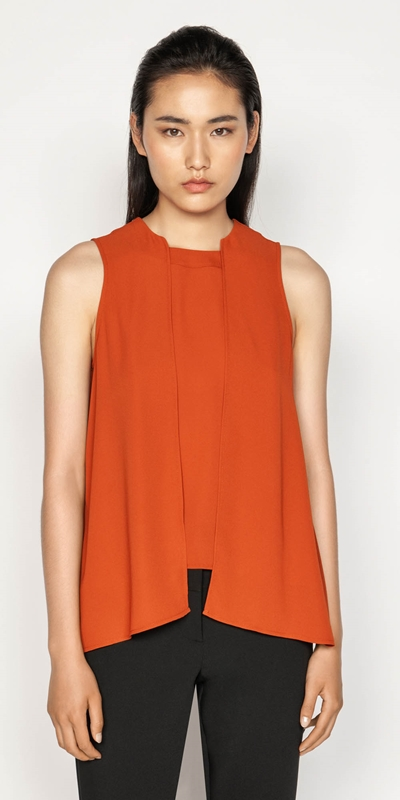 Sale  | Shaped Hem Swing Top