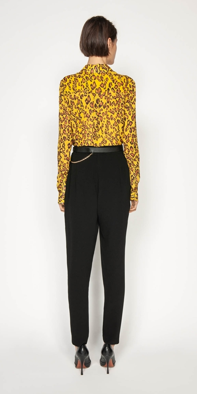 Shirts | Golden Leopard Shirt