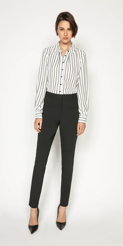 Wear to Work | Double Stripe Shirt