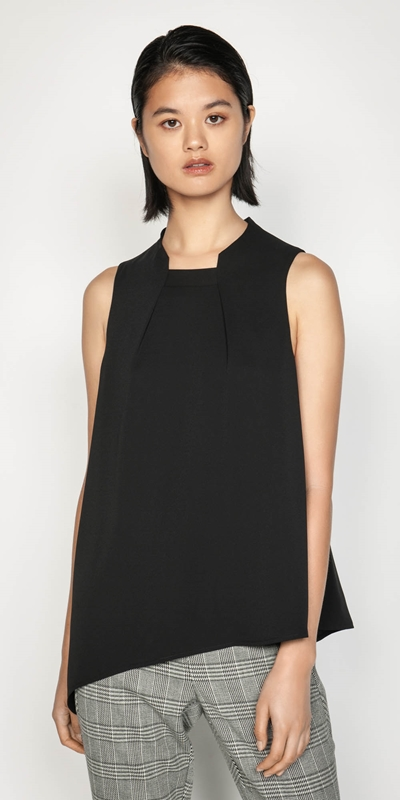 Wear to Work  | Asymmetric Hem Top