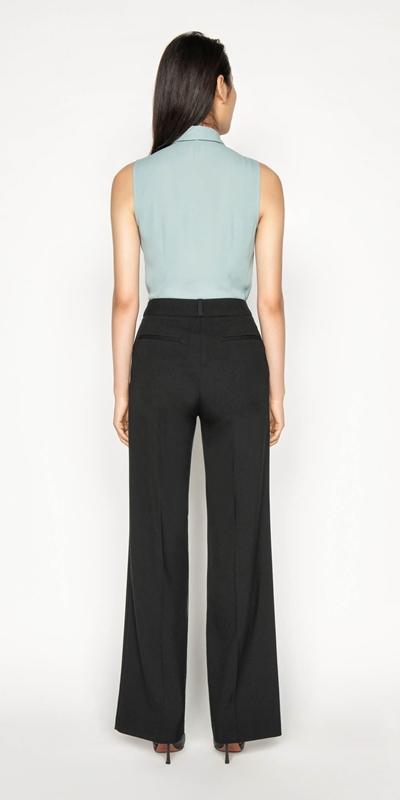 Shirts | Georgette Tie Neck Shirt