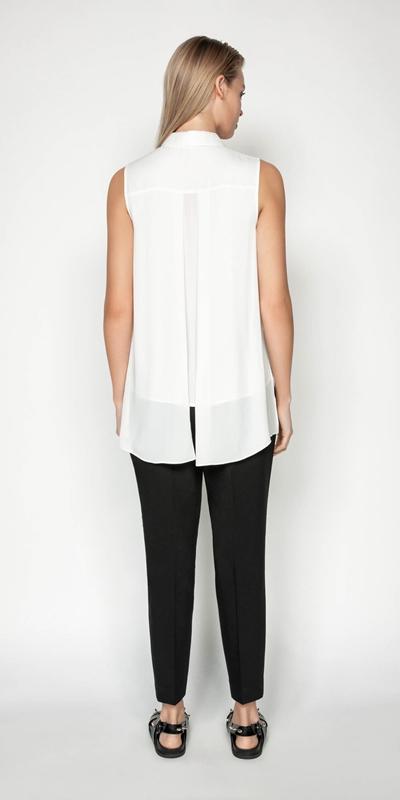 Shirts | Layered Shaped Hem Shirt