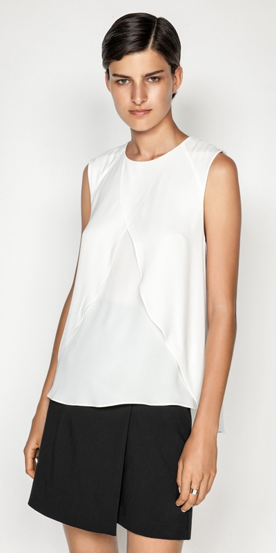 Sale  | Georgette Layered Swing Top
