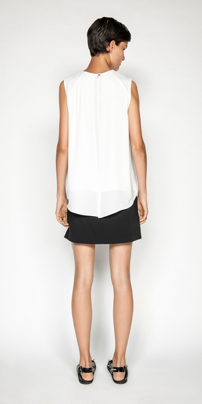 Tops | Georgette Layered Swing Top