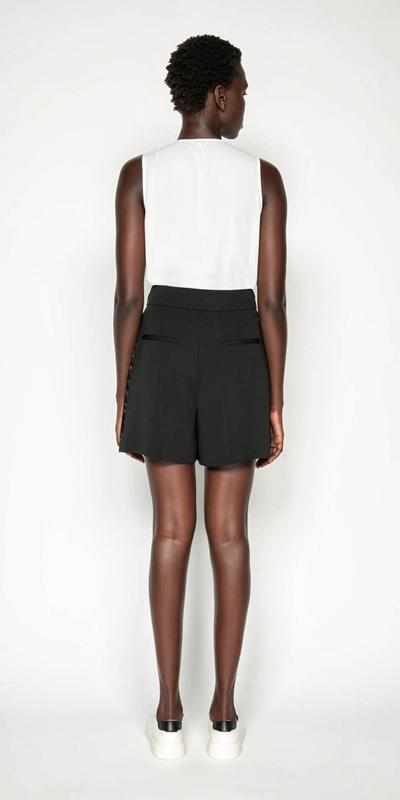 Shirts | Georgette Ruffle Swing Top