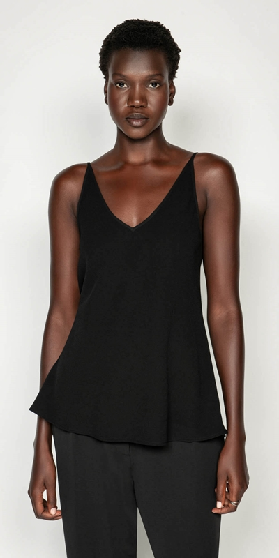 Shirts  | Satin Back Crepe Cami