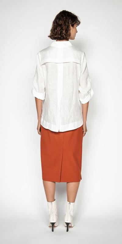 Shirts | Relaxed Linen Shirt
