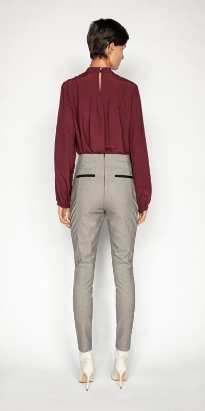 Tops and Shirts | Viscose Blouson Sleeve Top