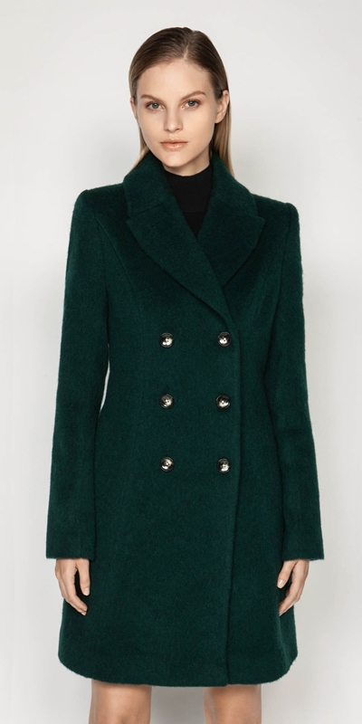 Coats | Forest Double Breasted Coat