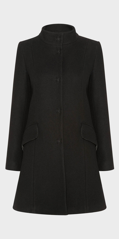 New Arrivals | Funnel Neck Coat