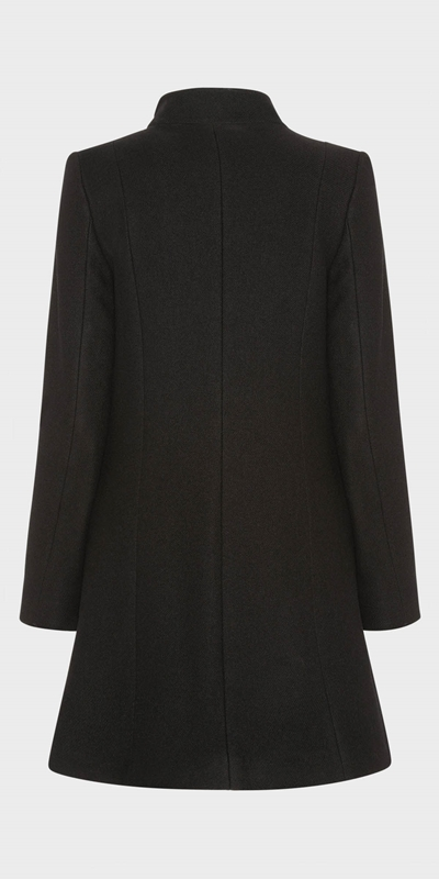 Work From Home  | Funnel Neck Coat