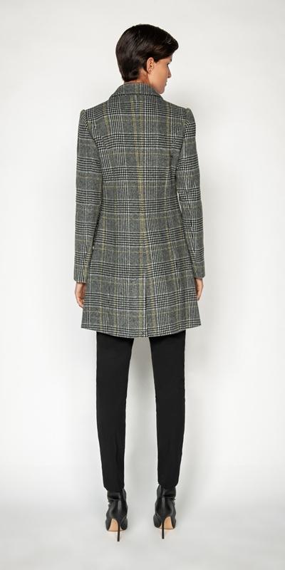 Jackets and Coats   Prince of Wales Check Coat