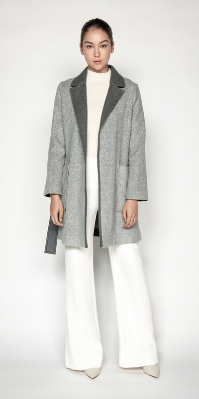 Coats | Wool Trench Coat