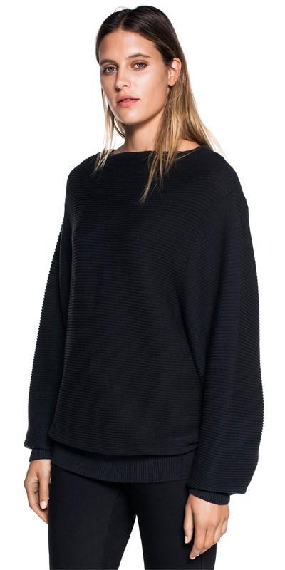 Knitwear  | Oversized Cotton Sweater