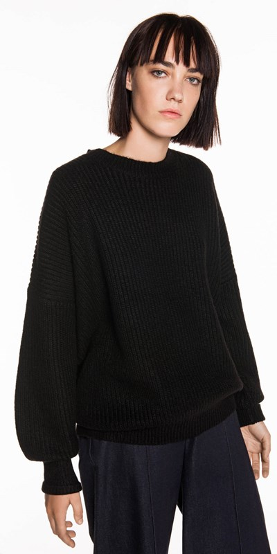Knitwear  | Oversized Rib Sweater