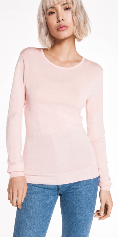 Tops  | Round Neck Knit