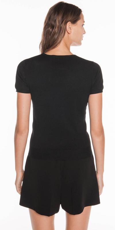 Knitwear | Short Sleeve Round Neck Knit