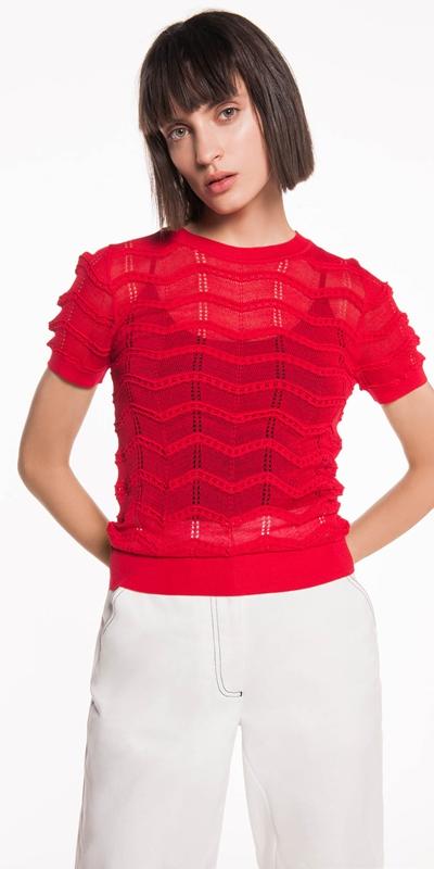 Knitwear  | Zig Zag Knit