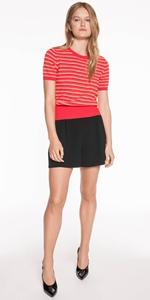 Knitwear   Textured Stripe Knit